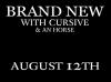 2012 Canadian Tour w/ Brand New & Cursive